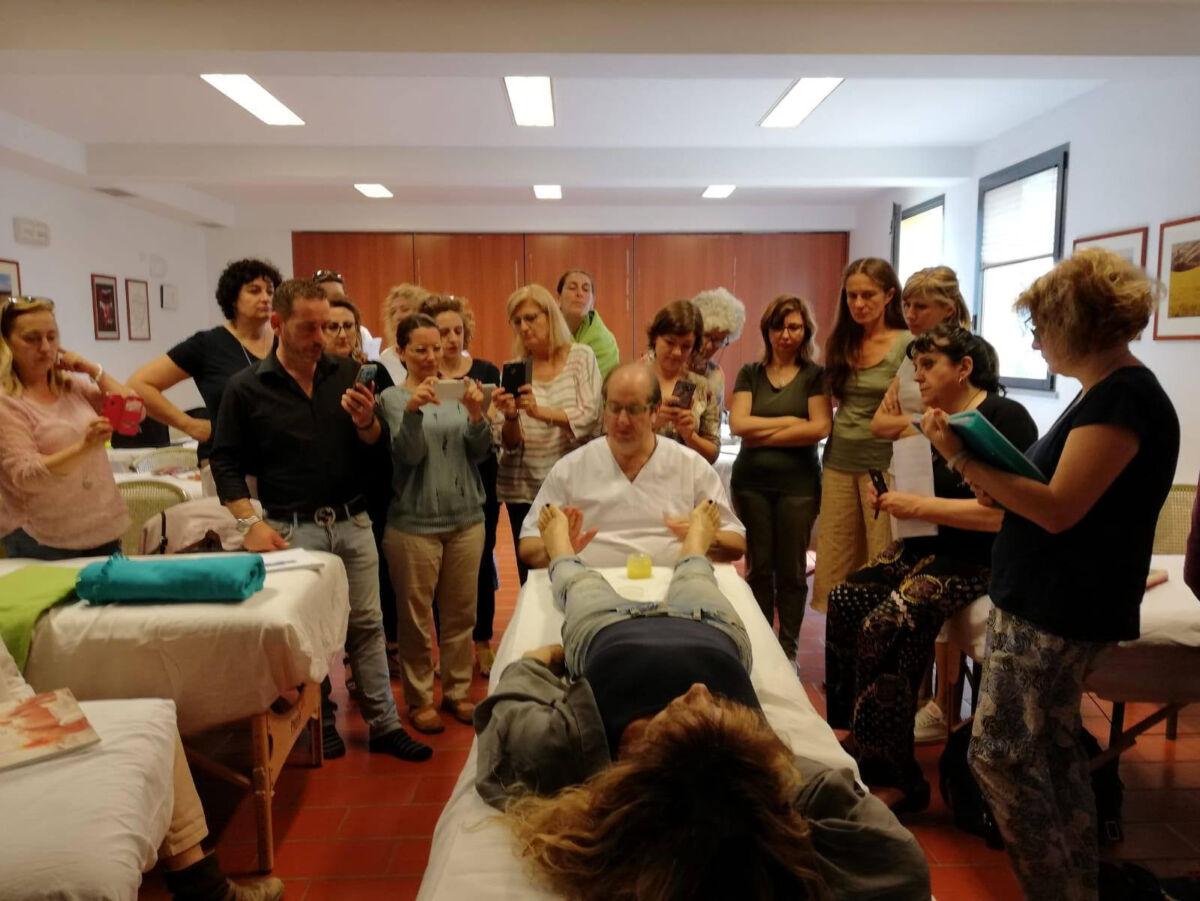 docente kruchick con studenti
