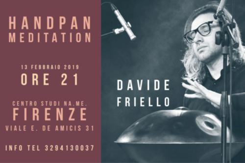 concerto di handpan con Davide Friello